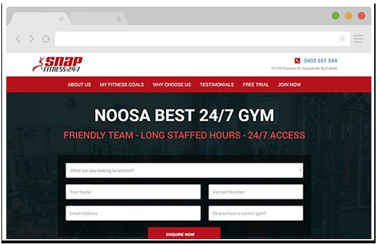 custom websites sunshine coast